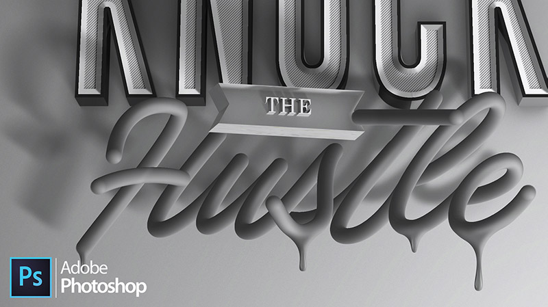 Advanced 3D Typography Techniques in Photoshop
