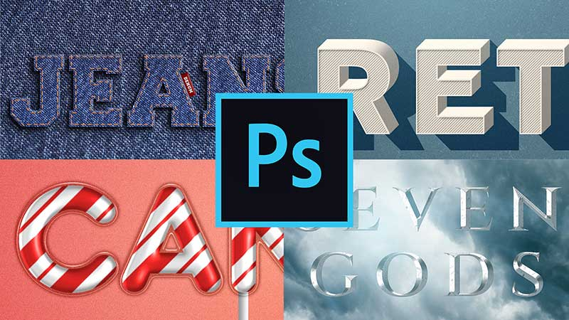 Photoshop Effects – Create Amazing Text Effects